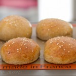 Whole Wheat Hamburger Buns-4561