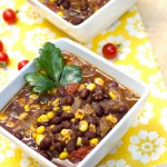 Fiesta Black Bean Soup-5083