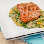 Sweet Corn and Pea Creamy Risotto-5581