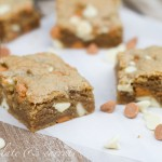 Whole Grain White Chocolate & Butterscotch Blondies-1370