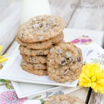 whole wheat oatmeal chocolate chip cookies-1745