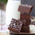 Easy Dark Chocolate Fudge-2420