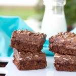 Chocolate Crispy Brownies-2612