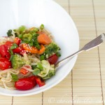 Peanut & Vegetable Asian Noodles-7911