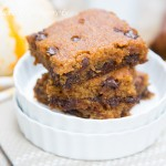 Pumpkin Chocolate Chip Bars-9258