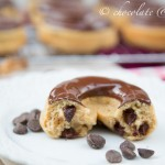 Whole Wheat Banana Chocolate Chip Baked Donuts-3164